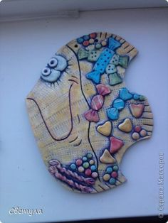 Декор предметов Поделка изделие Декупаж Лепка Роспись Соленушки Бутылки стеклянные Гипс Тесто соленое фото 3