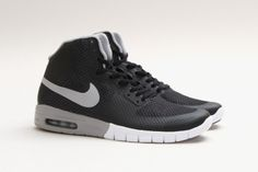 "Nike SB Paul Rodriguez 7 Hyperfuse Max ""Black/Matte Silver"""