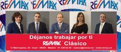Buenas tardes,hoy queremos compartirlo con vosotros y darles la bienvenida a nuestros 5 nuevos agentes, que han entrado hacer parte de RE/MAX Clásico este mes de enero 2014!MARTÍN, JAVIER, ISABEL ,IRENE Y ERNESTO bienvenidos a la gran f...