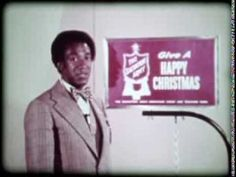 Bill Cosby war 1974 Schirmherr für die Weihnachtssammlung der Heilsarmee in den USA und half unter anderem beim Dreh dieses Videoclips.