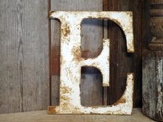 Rustic Letter home decor A B C D E F G H I J K L by ThePinkToolBox, $15.00
