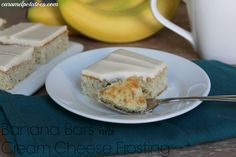 A great way to use those over ripe bananas - this recipe only uses 2 bananas so no need for a ton of brown bananas.  So good with cream cheese frosting!