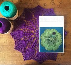 cozamundo One of my absolute favourite things to crochet are doilies from vintage patterns and today I got the most wonderful commission  watch this space for a vibrant vintage beauty! (Doily available in my @folksyhq store for only 10!!!)