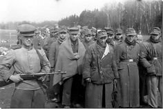 German POW in Koenigsberg. April 1945