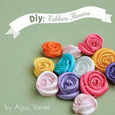 Ribbon Flowers!