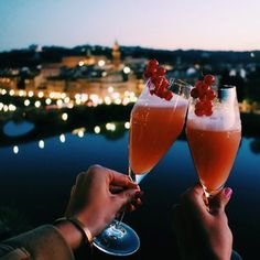Bellinis in Florence!