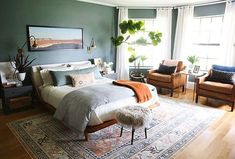 nice 44 Gorgeous Coastal Bedroom Design Ideas To Copy Right Now Decoration Bedroom, Home Decor Bedroom, Modern Bedroom, Bedroom Furniture, Contemporary Bedroom, Bedroom Ideas, Bedroom Designs, Rattan Furniture, Bedroom Inspiration