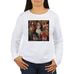 #Alice & #LookingGlass #Art Womens #Tshirt by @LTCartoons @cafepress #pinterest #gift #sale #childrensbooks #fantasy