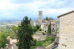View from Assisi, Umbria, Italy