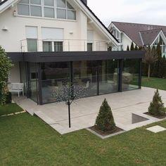 Keller Wintergarten das rahmenlose design schiebefenster keller minimal windows schafft