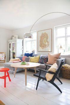 Lekker kleurijk! #Scandinavia living