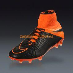newest 30316 d8256 El mas barato Zapatillas Futbol Nike Hypervenom Phantom II FG Negro Naranja  Naranja Total Tech Craft