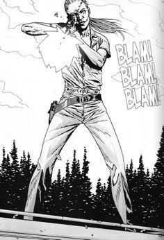 The Walking Dead Comic Images   Andrea (cómic) - The Walking Dead Wiki