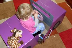 Nothing like a creative challenge to get my brain working and what could be more fun than following up Immy's beloved play kitchen with the next DIY Kids project... a car.Same rules apply. Only $10...