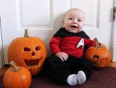 Baby Star Trek costume  sc 1 st  Pinterest & 24 best Baby images on Pinterest | Baby ideas Baby things and Custom in