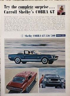 1968-Shelby-GT-500-Ford-Mustang-ORIGINAL-Ad-C-MY-STORE-4MORE-ADS-5-FREE-SHIP