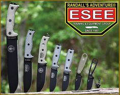 ESEE Knives... I Want Them All!!