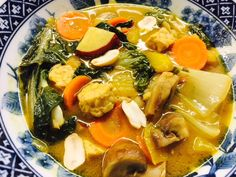 STEW PART TWO!!! Val and I were in stew mode and she came up with a yummy Thai Coconut Curry Stew.  Full of Veggies and Tempeh. If you're on the road to eating vegetarian/vegan, give Tempeh a…