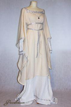 Mittelalterkleid Brautkleid Matilda Einzelstück von Gewandfantasien auf DaWanda.com