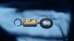 Check out this item in my Etsy shop https://www.etsy.com/listing/521305982/one-of-my-favorites-wine-cork-keychain
