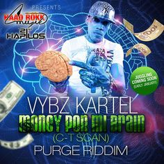 Vybz Kartel - Money Pon Mi Brain [C-T Scan] (Official Music Video)