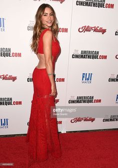 Sofia Vergara arrives at the 29th American Cinematheque Award Honoring Reese Witherspoon at the Hyatt Regency Century Plaza on October 30, 2015 in Los Angeles, California.
