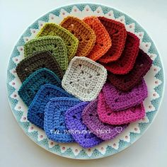 The Patchwork Heart: Colour Recipes - many different color combinations for Stylecraft Special yarn