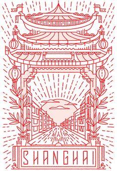 30 Vector Line Art Illustrations with Detailed Patterns & Geometric Shapes Line Illustration, Graphic Design Illustration, Graphic Art, Graphisches Design, Line Design, Pattern Design, Design Graphique, Art Graphique, Arte Popular
