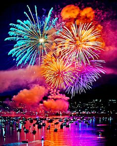 Australia Day Fireworks - the 26th of January is the national holiday of Australia and celebrations all over the country are particularly memorable