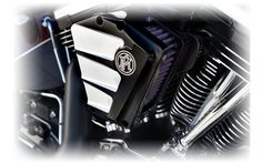 PM | Motorcycle Custom Air Cleaner - Scallop