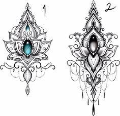 foot tattoos for women Lotus Mandala Tattoo, Mandala Tattoo Design, Henna Tattoo Designs, Lotus Mandala Design, Mandala Tattoos For Women, Geometric Mandala Tattoo, Mandala Drawing, Tattoo Ideas, Gem Tattoo