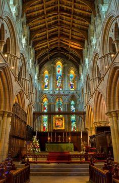 The Priory and Parish Church of St. Andrew (Hexham Abbey), Northumberland, UK