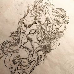 I would love to tattoo this big, back or front piece size. If it's something you would be interested in committing to please email me spagdin1@gmail.com! ✌