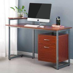 Stylish Computer Desks merax comfort products office computer desk student computer desk