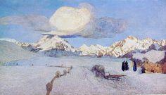 Il trittico della natura: la Morte, 1897-1899, Museo Segantini, Saint Moritz