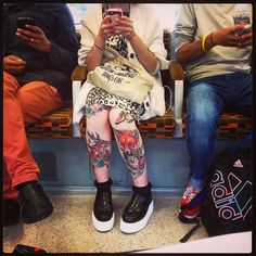 #tattoo's and #smartphones. Welcome to #London 2014 Get the #Kooky #London #App #ig_London #igLondon London_only #UK #England #English #GreatBritain #British #iPhone6 #quirky #odd #weird #photoftheday #photography #picoftheday #igerslondon #lovelondon #timeoutlondon #instalondon #londonslovinit #mylondon #sneakerporn #Padgram