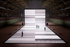 Agenda Besançon | Installation Test pattern [n°4] de Ryoji Ikeda - Du 06 avril au 15 septembre 2013 - Frac Franche-Comté Cité des arts