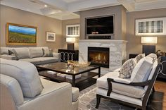 15 Modern Day Living Room TV Ideas Contemporary Living Room Design, Pictures, Remodel, Decor and Ideas - page 3 Design Living Room, Living Room On A Budget, Family Room Design, Living Room Tv, Home And Living, Living Spaces, Modern Living, Small Living, Cozy Living