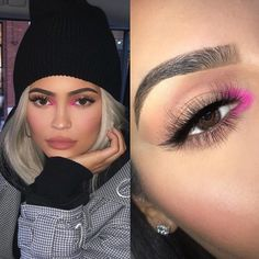 Which make up look 1 2 3 4 5 6 7 8 9 or 10 ! makeupbybrooktiffany kylie jenner via her stories nails art girl polish cute makeup november 19 2019 at 07 howtogetbiggerlipswithoutmakeup Kylie Makeup, Pink Makeup, Cute Makeup, Glam Makeup, Beauty Makeup, Hair Makeup, Hair Beauty, Makeup Light, Awesome Makeup