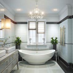 """491 Likes, 8 Comments - ДИЗАЙН ИНТЕРЬЕРА ДИЗАЙНЕР (@tarakanovadesign) on Instagram: """"Ванная с леном- это всегда удачный интерьер) а если ванная с окном да ещё и не меньше 8 метров- это…"""""""