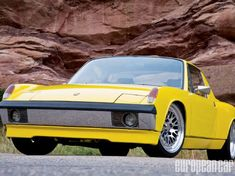 Comparing Jacob's modified 1972 Porsche 914 to an older stock version might be sacrilege, but the mere fact that he let me behind the helm is worthy of praise. - European Car Magazine