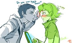 Lance and Pidge