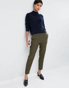 Pantalones slim texturizados de ASOS Premium
