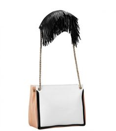Christian Louboutin bag from S/S 2012 collection. LOVE the idea of the detail on the shoulder strap!aw