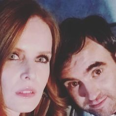 """""""#Snicked teaser  @bexmader is (wait for it)... #Wicked  So fun & I'm envious of her humor!"""" - Gabe Khouth via Instagram."""