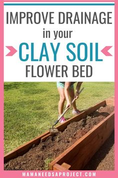 Gardening in dense clay soil is challenging! After years of trying to garden in compacted clay soil with poor drainage, here are the new steps I'm taking to finally learn how to amend my clay soil and create the garden I've been dreaming of. Front Porch Flowers, Front Flower Beds, Raised Flower Beds, Front Porch Makeover, Woodworking Tutorials, Fence Art, Clay Soil, Fall Plants, Diy House Projects