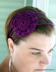 Icing on the Cake Headband by karenswimmer on Etsy, $12.00