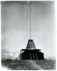 Building at Tesla's Colorado Springs Laboratory, c. 1899