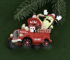 M & M Fire Brigade Christmas Ornament