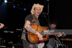 Musician Hank Williams III performs at the Adam Kimmel x Carhartt party at Don Hill's on February 16, 2011 in New York City.